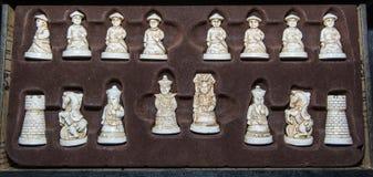 Het cijfer van het schaak Royalty-vrije Stock Afbeeldingen