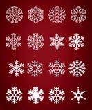 Het cijfer van het sneeuwklokje Stock Afbeeldingen