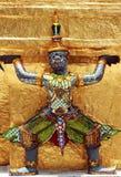 Het cijfer van Ramayana in Wat Prakaew Thailand royalty-vrije stock afbeelding