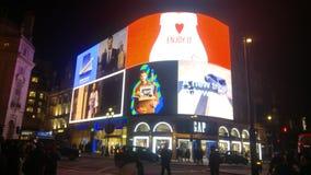 Het Circus Londen van Piccadilly stock afbeeldingen