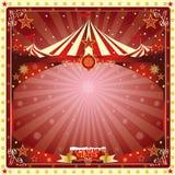 Het circus van de kerstkaart Stock Afbeelding
