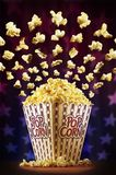 Het circus van de popcorn Stock Afbeelding