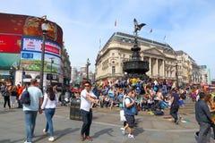 Het Circus van Londen Piccadilly Royalty-vrije Stock Foto