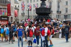 Het Circus van Londen Piccadilly Stock Foto