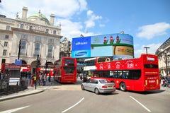 Het Circus van Londen - Piccadilly- Royalty-vrije Stock Afbeelding