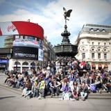 Het Circus van Londen Piccadilly Stock Afbeeldingen