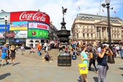 Het Circus van Londen Piccadilly Royalty-vrije Stock Foto's