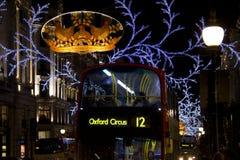 Het Circus van Oxford in Londen Stock Fotografie