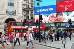 Het Circus van Piccadilly Stock Fotografie