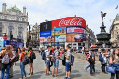 Het Circus van Piccadilly Stock Foto's