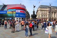 Het Circus van Piccadilly Stock Afbeeldingen