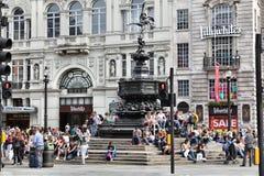 Het Circus van Piccadilly, Londen Stock Afbeelding