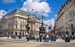 Het Circus van Piccadilly in Londen Stock Foto