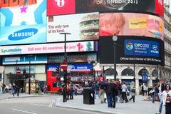 Het Circus van Piccadilly, Londen Stock Foto