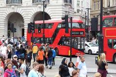 Het Circus van Piccadilly, Londen Royalty-vrije Stock Fotografie