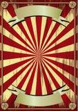 Het circusachtergrond van Grunge Royalty-vrije Stock Afbeeldingen