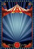 Het circusaffiche van de pretnacht Royalty-vrije Stock Foto's