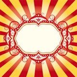 Het circusvlieger van het frame Stock Afbeeldingen