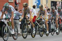 Het cirkelen: dâItalia van de giro van het Eeuwfeest - 2009 Stock Afbeelding