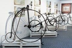 Het cirkelen door geschiedenistentoonstelling in Imperia Stock Fotografie