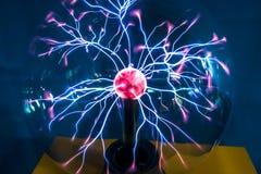 Het close-up van de plasmabal Royalty-vrije Stock Afbeelding