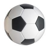 Het Close-up van de voetbalbal Royalty-vrije Stock Foto's
