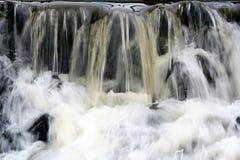 Het close-up van de waterval Stock Afbeeldingen
