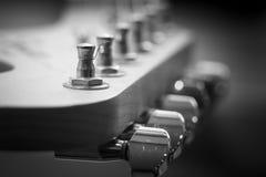 Het close-up van het gitaarasblok Royalty-vrije Stock Afbeelding