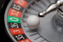 Het close-up van het roulettewiel Royalty-vrije Stock Foto