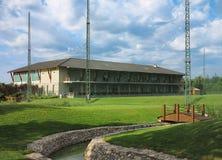 Het Clubhuis van het golf   Stock Afbeelding