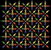 Het colopful patroon van de regenboogruit Royalty-vrije Stock Foto