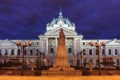Het Colteaziekenhuis, Boekarest, Roemenië Stock Afbeeldingen