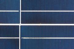 Het Comité van de zonnecel Stock Afbeelding