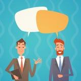 Het commerciële Praatjebel Team Human Resources Colleagues van Man Group vector illustratie