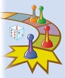 Het commerciële Spel van de Raad Stock Foto's