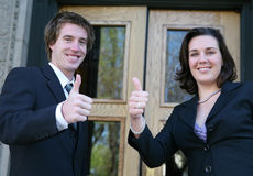 Het commerciële Succes van het Team Royalty-vrije Stock Fotografie