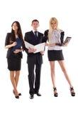 Het commerciële team Stock Foto