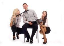 Het commerciële team Stock Afbeelding