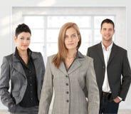 Het commerciële team stellen stock foto