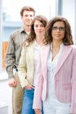 Het commerciële team stellen Stock Foto's
