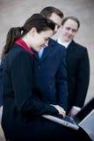 Het commerciële teamwerk royalty-vrije stock foto