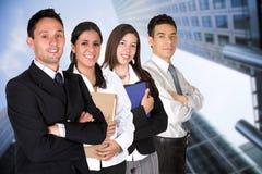 Het commerciële teamwerk Stock Fotografie