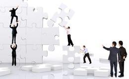 Het commerciële teamwerk Stock Foto