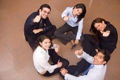 Het commerciële teamwerk Royalty-vrije Stock Foto's