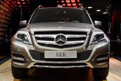 Het compacte Geländewagen nieuwe model van Mercedes-Benz GLK Royalty-vrije Stock Foto's