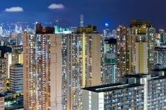 Het compacte leven van Hong Kong Stock Afbeeldingen