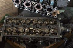 Het compartiment van het motorblok stock afbeelding