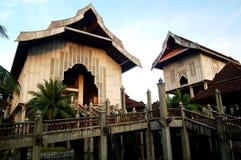 Het complexe Museum van de Staat Terengganu Stock Fotografie