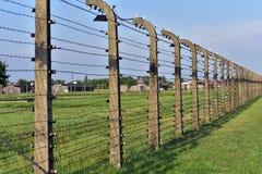 Het concentratiekamp van Auschwitz royalty-vrije stock foto's