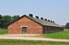 Het Concentratiekamp van Auschwitz Stock Foto's
